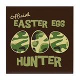 Easter Egg Hunter Tile Coaster
