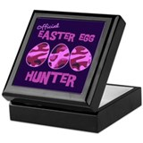 Easter Egg Hunter Keepsake Box