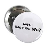LOST Charlie: Where R We? / 2.25&quot; Button