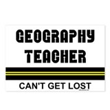 Geography Teacher Postcards (Package of 8)