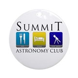Summit Astronomy Club - Starg Round Ornament
