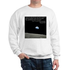 Earth Space Inspirational Sweatshirt