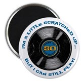 Scratched Record 50th Birthday Magnet