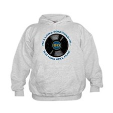 Scratched Record 60th Birthday Hoodie
