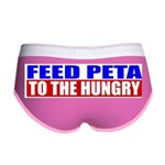 Feed PETA To The Hungry Women's Boy Brief