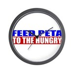 Feed PETA To The Hungry Wall Clock