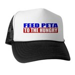 Feed PETA To The Hungry Trucker Hat