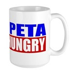 Feed PETA To The Hungry Large Mug