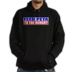 Feed PETA To The Hungry Hoodie (dark)