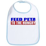Feed PETA To The Hungry Bib