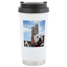 Ceramic Travel Mug with Westie