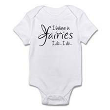 I believe in fairies Infant Bodysuit