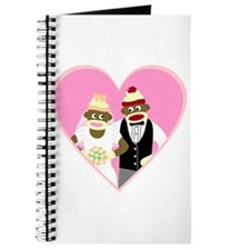 Sock Monkey Wedding Journal