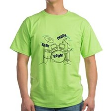 Cool Drum set kids T-Shirt