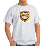USS Camden AOE 2 Ash Grey T-Shirt