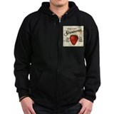 Pick Your Own Strawberries Zip Hoodie