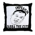 Impeach Christie Throw Pillow