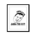 Impeach Christie Framed Panel Print