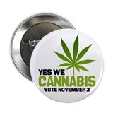 "Cannabis 2.25"" Button (10 pack)"