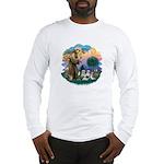 St Francis #2/ Shih Tzus (4) Long Sleeve T-Shirt