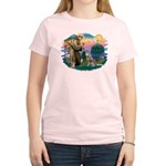 St Francis #2/ S Husky #2 Women's Light T-Shirt