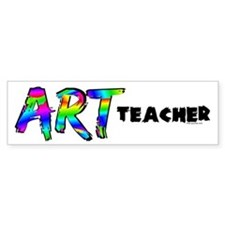 Art Teacher Bumper Sticker