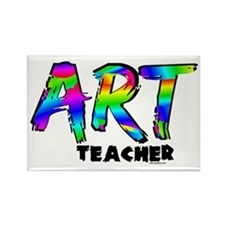 Art Teacher Rectangle Magnet (100 pack)