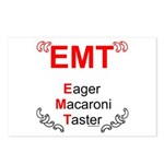 Eager Macaroni Taster Postcards (Package of 8)
