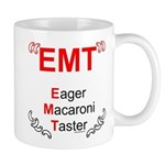 Eager Macaroni Taster Mug