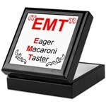 Eager Macaroni Taster Keepsake Box