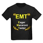 Eager Macaroni Taster Kids Dark T-Shirt