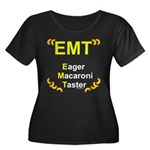 Eager Macaroni Taster Women's Plus Size Scoop Neck