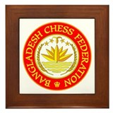 Bangladesh Chess Federation Framed Tile