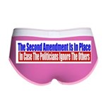 The Second Amendment Is In Pl Women's Boy Brief