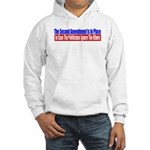 The Second Amendment Is In Pl Hooded Sweatshirt
