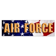 Air Force L Bumper Sticker