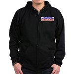 The Government That Fears The Zip Hoodie (dark)