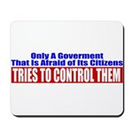 The Government That Fears The Mousepad
