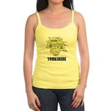 Yorkshire Map Ladies Top