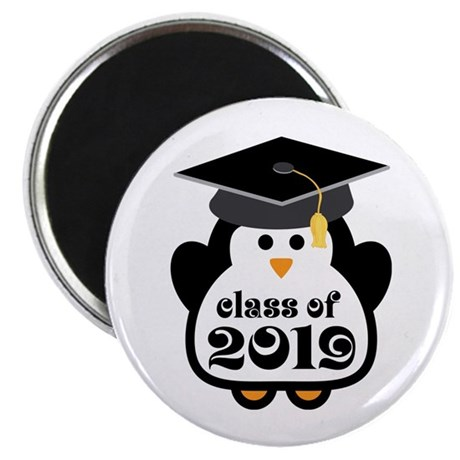 Penguin Class of 2019 Magnet