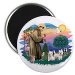 St Francis #2 / Magnet