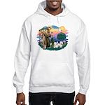 St Francis #2 / Westies (2) Hooded Sweatshirt