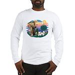 St Francis #2 / Westies (2) Long Sleeve T-Shirt