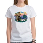 St Francis #2 / Westies (2) Women's T-Shirt