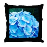 hydrangea floral home decor art throw pillows