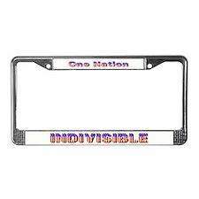 Funny Free thinker License Plate Frame