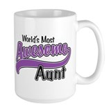 Most Awesome Aunt Ceramic Mugs