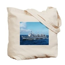 USS Supply Ship's Image Tote Bag