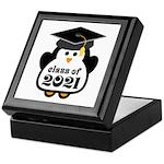 Penguin Class of 2021 Keepsake Box