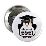 "Penguin Class of 2021 2.25"" Button"